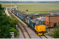 37407_37424GB_Reedham_240619 (Catcliffe Demon) Tags: drs directrailservices class374 railways uk norfolk locohauled tractor ukrailimages2019 mk2f abelliogreateranglia diesellocomotive coco topandtailed largelogo britishrail doublearrow