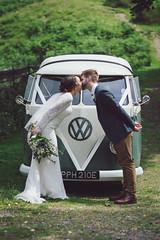 Ah, THE wedding car (John Leech) Tags: martindale st peters church ullswater weddingphotographer weddingphotography lakedistrict cumbria