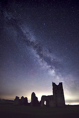 Knowlton MW1 (gazwold68) Tags: dorset knowlton church english heritage milky way astrophotography astro night time stars ruins photopills