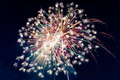Celebrate! (sniggie) Tags: jeffersoncounty kentucky louisville louisvillebats milb minorleaguebaseball sluggerfield celebrate celebration fireworks