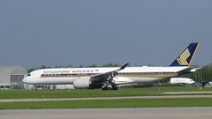 Singapore Airlines Airbus A.350-941. (Ian M Thorne) Tags: airbusa350941