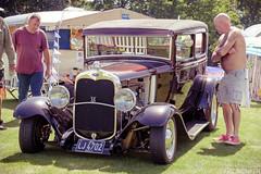 The Nostalgia Show 2019 - Ford v8 Hotrod (the_munkeh) Tags: stansted park hampshire house the nostalgia show 2019 retro classic vintage summer british ford custom v8
