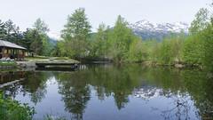 Réflexion, reflection - Skagway, Alaska, AK, USA - 0497 (rivai56) Tags: réflexion reflection skagway alaska ak usa 0497 trees mountain lake