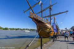 """NAO Santa Maria (Al Fontaine) Tags: history ships historic tallships river riverside rivers """"christophercolumbus"""" naosantamaria"""
