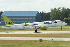 YL-CSK | Air Baltic | Airbus A220-300 | CN 55039 | Built 2018 | RIX/EVRA 09/06/2019 (Mick Planespotter) Tags: ylcsk air baltic airbus a220300 55039 2018 rix evra 09062019 aircraft airport airlines a220 flight plane airplane spotter planespotter nik sharpenerpro3 2019 cs300 riga starptautiskālidosta airbaltic