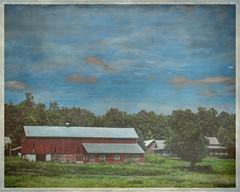 (Sally E J Hunter) Tags: ontario rural barn summer farm peterboroughtownship peterboroughcounty redbarn otonabeesouthmonaghan