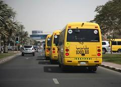 Dubai  Mitsubishi Fuso School Bus (Flame1958) Tags: dubaimitsubishifusoschoolbus dubai uae schoolbus yellowbus bus uaebus 240418 0418 2018 7769