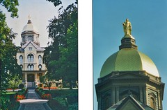 South Bend  -  Indiana -  University of Notre Dame - Administration  Building  -  Historic Building (Onasill ~ Bill Badzo - 67 M) Tags: university notre dame an ivy league school grandbend in indiana nortredame fighting irish football team basilica scared heart vintage photos old usa us america romancatholic catholic onasill historic district nrhp register campus holly cross congregation architecture neo gothic church vatican painter luigi gregori bell tower tallest attraction tours walking site must see museum pipe organ altar ceiling exterior interior murals stjosephcounty religion famous national landmark unitedstates administrationbuilding dome portico catholicschool roman goldendom