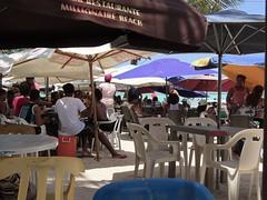 People at the beach (sirhowardlee) Tags: beach people playa gente bocachica dominicanrepublic