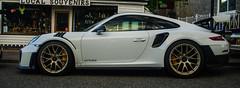 Porsche GT2 RS (Brian Travelling) Tags: porsche gt2rs white sports car pentaxk20d pentax supercar musclecar