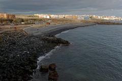 Golf del Sur, Tenerife, Canary Islands (wildhareuk) Tags: beach canaryislands canon canoneos500d hotel losabrigos people sea seascape spain tamron18270mm tenerife tenerife2019 village water pebble rock sandossanblas tamron img9354dxo