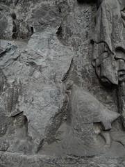 ca. 1400-1410 - 'unknown knight and family', Église Saint-Quentin, Tournai, province of Hainaut, Belgium (roelipilami (Roel Renmans)) Tags: family famille church monument saint st wall lady memorial mounted unknown wife knight chevalier eglise quentin dalle caballero ritter 1400 1405 ridder 1410 funeraire fashion belgium helmet bec kerk visor helm basinet grabmal tournai doornik hainaut hainault grafmonument bascinet heaume bacinete aventail passereau camail hundsgugel bacinetto beckenhaube hounskull бацинет houppelande visiere houppeland