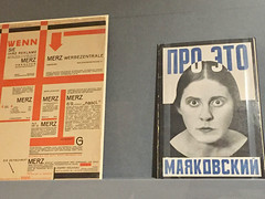 1-7 New Typgrapy at Bard (MsSusanB) Tags: nyc newyork museum germany advertising typography design graphicdesign europe jan moma exhibition museumofmodernart posters type brochures bard movieposters avantgarde twenties tschichold newtypography bcg bardgraduatecenter book cover mayakovsky merz rodchenko schwittes