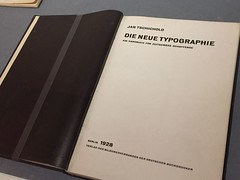 1-11 New Typgrapy at Bard (MsSusanB) Tags: bard typography newtypography jan tschichold germany twenties avantgarde europe advertising type graphicdesign design exhibition museum newyork nyc moma museumofmodernart brochures posters movieposters bcg bardgraduatecenter