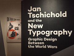 1-1 New Typgrapy at Bard (MsSusanB) Tags: bard typography newtypography jan tschichold germany twenties avantgarde europe advertising type graphicdesign design exhibition museum newyork nyc moma museumofmodernart brochures posters movieposters bcg bardgraduatecenter