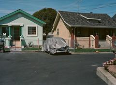 Alviso, California (bior) Tags: alviso sanjose california pentax645nii pentax645 6x45cm portra160vc portra kodakportra mediumformat 120 house suburbs residential