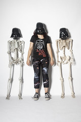 Day 4531 (evaxebra) Tags: wh wah dark side darth vader skeleton skeletons bones three trio star wars