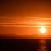 Levé de soleil gaspésien, proche de Percé.