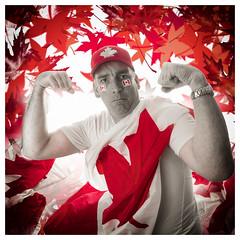 The Patriot (_Matt_T_) Tags: red portrait westcott canadaday selective selfie af360fgz af540fgz smcpm20mmf40 apolloorb43 cactusv6 127 explore