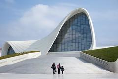 Heydar Aliyev. Baku, Azerbaijan April 2019 (nae2409) Tags: leica curve modern architecture azerbaijan baku convention zahahadid