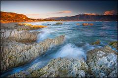 Gold Amuri (katepedley) Tags: kaikoura coast peninsula canterbury canterburynz southisland south island newzealand new zealand aotearoa canon 5d 1740mm polariser dawn rock geology sunrise morning alpenglow mountains