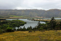 Lake Waitaki and Waitaki River (witajny) Tags: travel newzealand lake mountains river southisland aotearoa lanscape cloudysky landscapephotography waitakiriver waitakilake nature clouds cloudy viewpoint naturephotography
