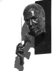 Sir Thomas Beecham by David Wynne, 1957 (Snapshooter46) Tags: sirthomasbeecham sculpture sculptor davidwynne npg nationalportraitgallery london english conductor impresario