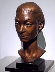 Margot Fonteyn by Maurice Lambert, bronze bust, 1956 (Snapshooter46) Tags: margotfonteyn bust sculptor mauricelambert bronze sculpture npg nationalportraitgallery london balletdancer english ballerina