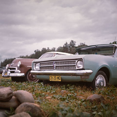 (thomasbrownphoto) Tags: rolleiflex rollei 6x6 old cars holden australia xenar thomas brown rattletrap