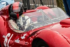 Maserati Birdcage - Tipo 61 (uluqui) Tags: canon 6d car motorsport motor race sport classic legend racing historic circuit france automotive automobile racecar vintage peterauto dijon dijonprenois motion speed maserati birdcage maseratitipo61 paddock pitlane