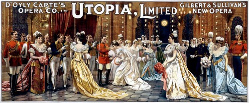 Utopia, Limited: cleaned up and retouched by Adam Cuerden via Wikimedia Commons