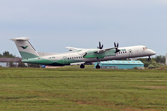 LN-WDL DHC-8Q 402 Wideroes Flyveseiskap STN 09-06-19 (PlanecrazyUK) Tags: egss londonstansted stn stanstedairport londonstanstedairport lnwdl dhc8q402 wideroesflyveseiskap 090619