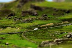 Malin Head IR - Tiltshift Road (Daniel Mennerich) Tags: malinhead republicofireland ireland canon dslr eos hdr hdri spiegelreflexkamera slr tiltshift tilt shift eire irland éire irlande ирландия irlanda