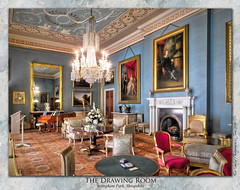 The Drawing Room, Attingham Park (setsuyostar) Tags: attinghampark nationaltrust thestatelyhomesofengland nikoncoolpixp900 exposurebracketing hdr topazstudio summer2019 june2019 kenhawley