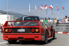Ferrari F40 (Alexandre Prevot) Tags: monaco mc voiture european cars automotive automobile exotics exotic supercars supercar worldcars auto car berline sport route transport déplacement parking luxe grandestsupercars ges montecarlo montecarlu 98000