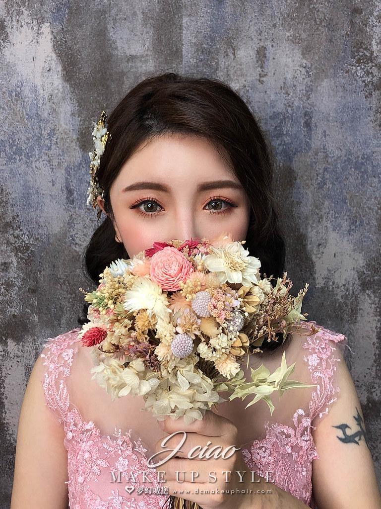 【新秘婕喬】新娘造型創作 / 浪漫優雅造型