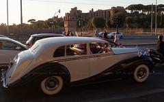 Rome in a Rolls-Royce ...yeah!!! (brun@x - Africa Wildlife) Tags: 2019 bruno portier brunoportier rome roma italy italia italie rollsroyce