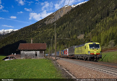 TXL E193.552 (Marco Stellini) Tags: tx logistik br193 vectron siemens brennerbahn brennero terme passo treno verona adige e193