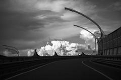 #SignArt 25 (Listenwave Photography) Tags: clouds travel roads autobahn contrast contact контраст облака чёрноеибелое зсд поворот 2072019 saintpetersburg drive foveon sigma bnw listenwave journey