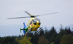 G-SCAA EC135, Scone (wwshack) Tags: airbushelicopters ec135 egpt eurocopter psl perth perthairport perthshire scaa scone sconeairport scotland scotlandscharityairambulance helicopter gscaa