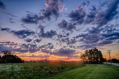 A Summertime Sky (kendoman26) Tags: hdr nikhdrefexpro2 happytelegraphtuesday sky clouds sonyalpha sonya7mk2 sonya7ii morrisillinois samyang24mm