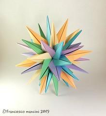 TUVWXYZ Stars (mancinerie) Tags: origami paperfolding papiroflexia papierfalten polyhedra francescomancini modularorigami mancinerie intersectingplanes star carta cartapiegata paperart papercrraft geometry