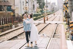 Wally-47 (dreamo19897) Tags: japan tokyo kamakura yokohama wallytsai photographer portrait weddingphotography weddingdress prewedding 瓦力 日本 日系寫真 婚紗 東京 鎌倉 橫濱 人像 櫻花 桜 写真 ウェディングドレス ウェディング