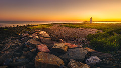 Seaside-Park-Bridgeport-CT-USA_09232017-25-HDR-Pano (LBSimmsPhotography) Tags: coast afterglow coastal colorful colourfulsky connecticut landscape mood moody nature northamerica outdoor sandstone scenic shore sky sonyalpha sonyimages sundown tranquillscene travel vibrant water ngc blackrock blackrocklight fayerweatherisland fayerweatherislandlight lighthouse
