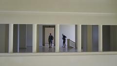 Strolling through Frames (Ger208k) Tags: portugal porto museuserralves museum contemporaryart artdeco frames columns fineart colour gerardmcgrath fuji xpro1