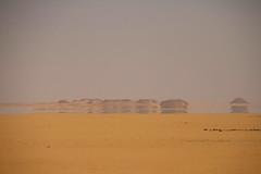 Shimmering ocean, Luxor desert, Luxor, Egypt