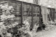 Wood Railroad Car (miked2019) Tags: burnham abandoned train pennsylvania car us army