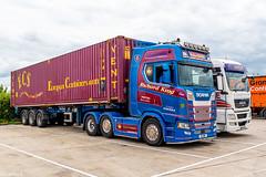 R5RBK , Ricard King Waiting on his Next Job @ Immingham Truck Stop ... (Rab.....) Tags: barnetby england unitedkingdom