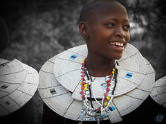 ALL SMILES (eliewolfphotography) Tags: maasai culture africanculture africa indigenous smiling tanzania maasaitribe