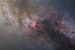 Hattyú részlet - Cygnus (hodorgabor) Tags: astrophoto astrophotography longexposure sky stars space deepsky dark darksky dust nebula cygnus ngc dened sadr
